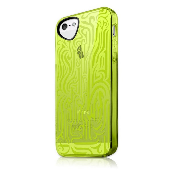 ITSKINS INK Backcover gelb für Apple iPhone 5| iPhone 5G| iPhone 5S| iPhone SE