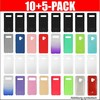 10+5-PACK BackCase (10 neutrale Cases in schwarz/transparent + 5 farbige) für Samsung A505 Galaxy A50